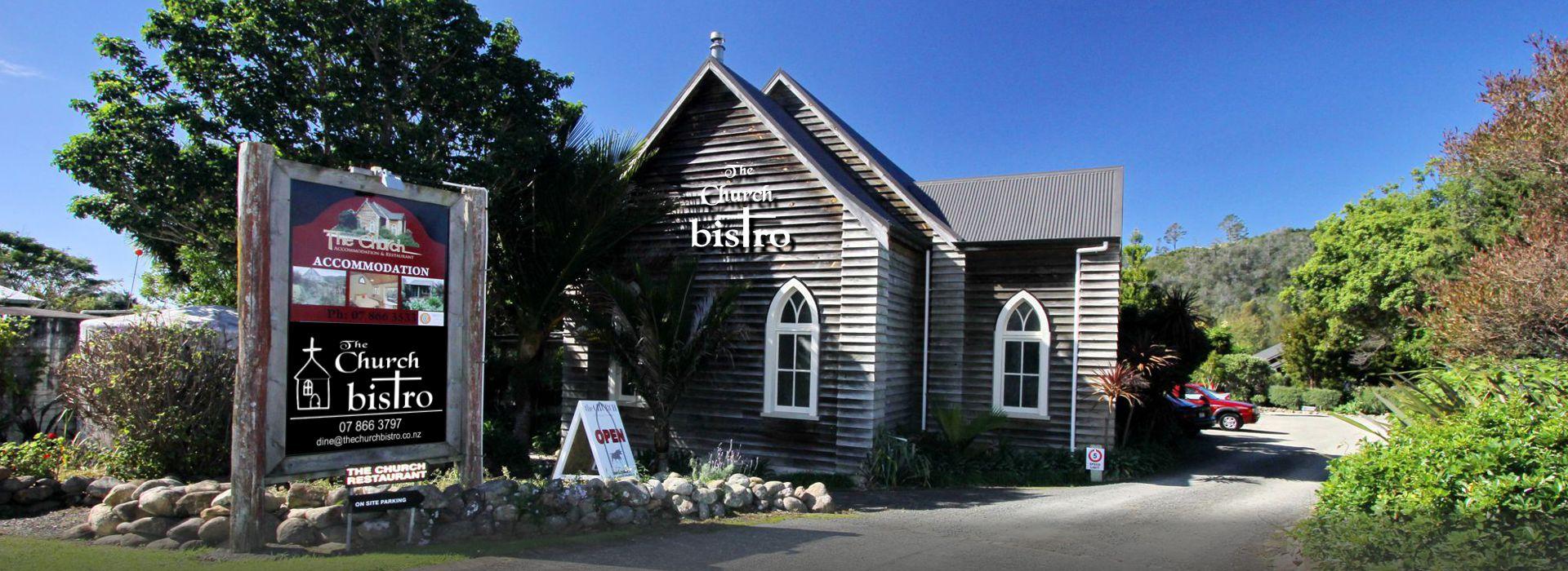 The Church Bistro Hahei NZ